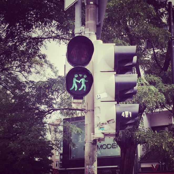 Emmy-horstkamp-traffic-light-munich-germany-july-2015