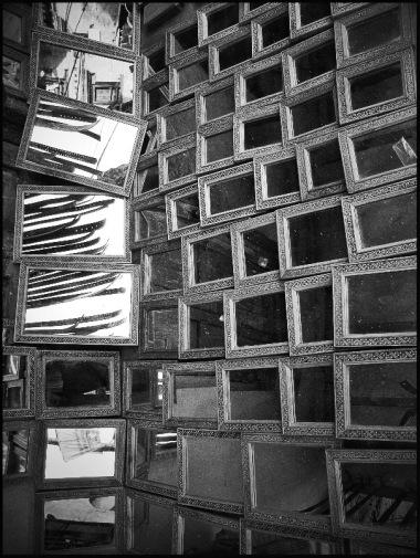 Original image of mirrors flipped again